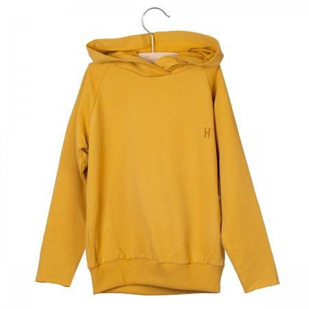 Little Hedonist Hooded Sweater Joy Amber Gold (Novelties)