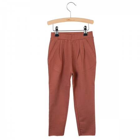 Little Hedonist Pleated Trousers Kobus Auburn (Novelties)