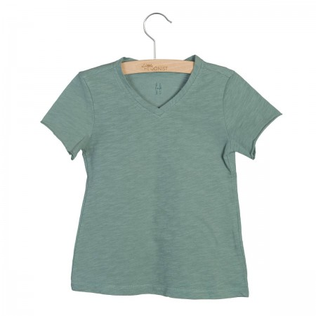 Little Hedonist Shirt Nik Chinois Green 98-104 (Shirts)