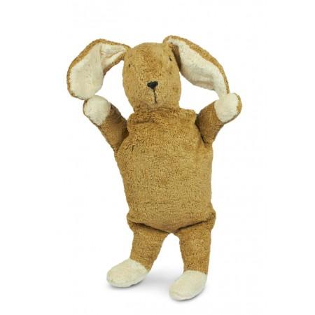 Cuddly animal Rabbit small | beige & white (Soft toys)