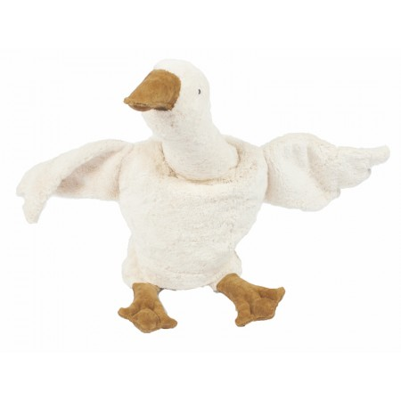 Cuddly animal Goose large | white (Soft toys)