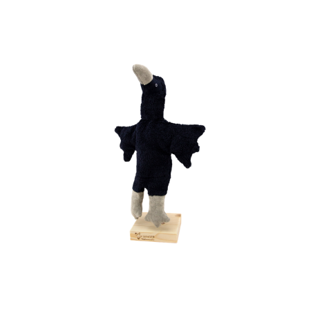 Hand puppet Crow (Theater dolls)