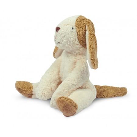 Floppy animal Dog, small| white & beige (Soft toys)