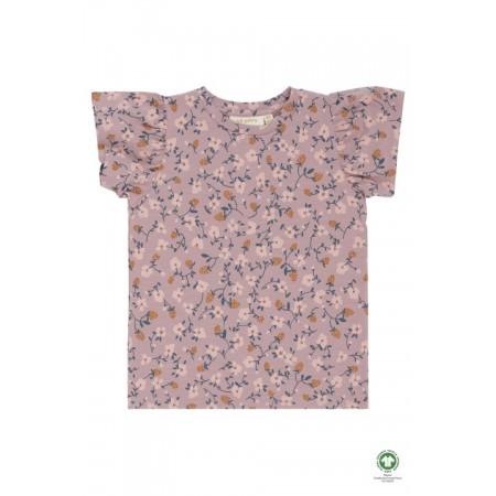 Soft Gallery Helen T-shirt Woodrose, AOP Flowerberry (Novelties)