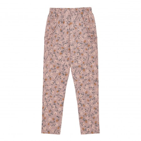 Soft Gallery Lucy Pants Woodrose, AOP Flowerberry (Novelties)