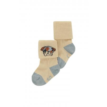 Soft Gallery Baby Boy Socks Gardenia,  Blockcolor