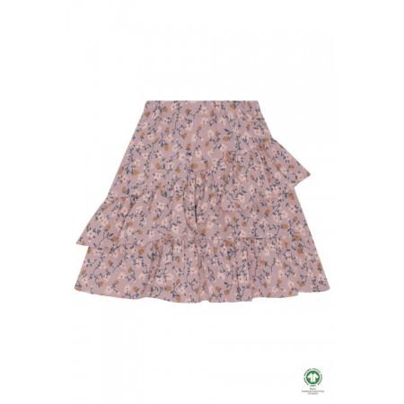 Soft Gallery Fine Skirt Woodrose, AOP Flowerberry (Novelties)
