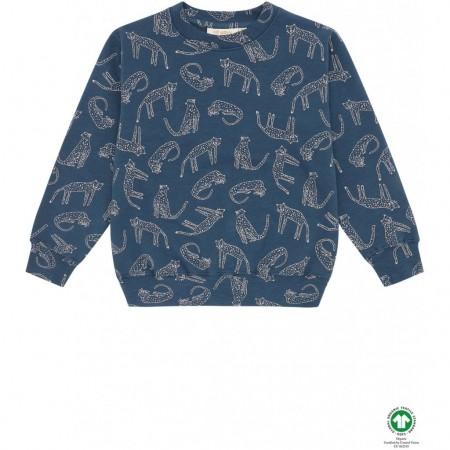 Soft Gallery Baptiste Sweatshirt Majolica Blue, AOP Loeline (Novelties)