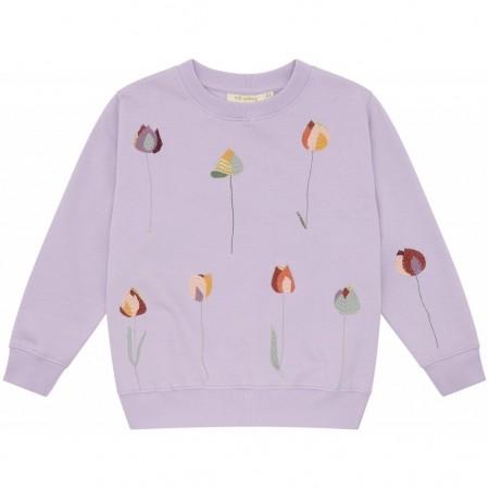 Soft Gallery Baptiste Sweatshirt Lavender Frost (Novelties)