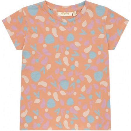 Soft Gallery Pilou T-shirt Sandstone, AOP Shapes S (Novelties)