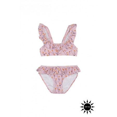 Soft Gallery Alicia Bikini Dawn Pink, AOP Buttercup (Swimwear)