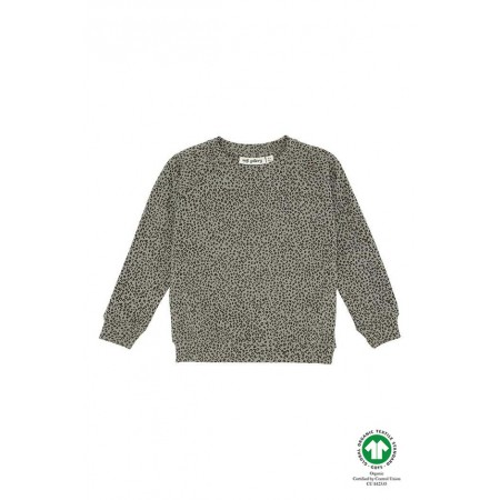 Soft Gallery Chaz Sweatshirt, Shadow, AOP Leospot 4Y (Sweaters)
