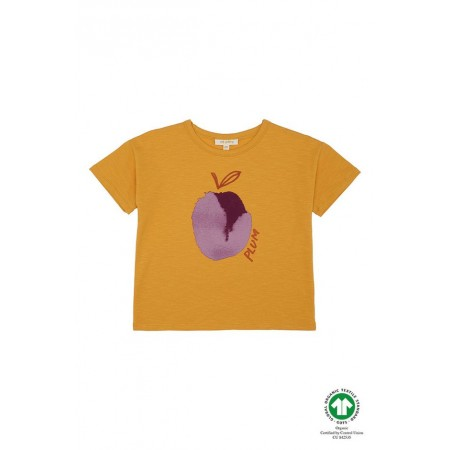 Soft Gallery Dharma T-shirt, Sunflower, Plum 4Y (Blouses)