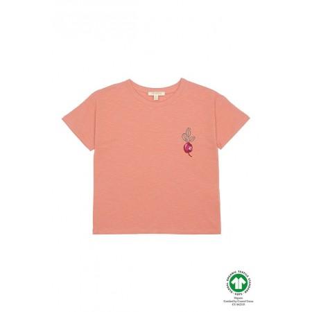 Soft Gallery Dharma T-shirt, Tawny Orange, HeartBeet (Blouses)
