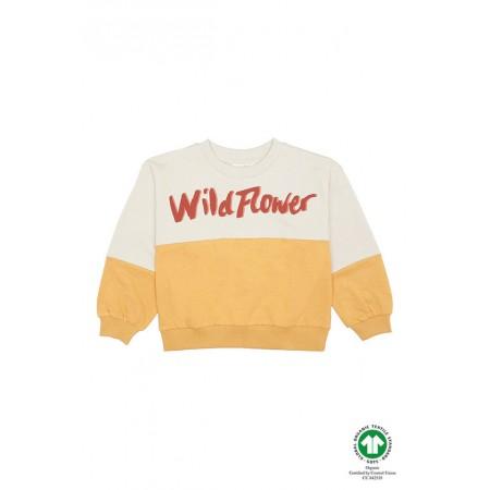 Soft Gallery Drew Sweatshirt, Seedpearl, Wildflower 2Y (Sweaters)