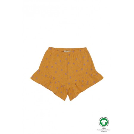 Soft Gallery Florie Shorts, Sunflower, AOP Clover 2Y