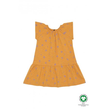 Soft Gallery Lexie Dress, Sunflower, AOP Clover 18M (Girls)