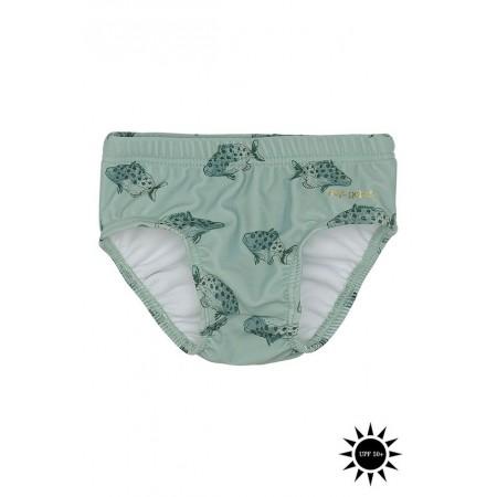 Soft Gallery Miki Swim Pants Jadeite, AOP Spotfish (Swimwear)