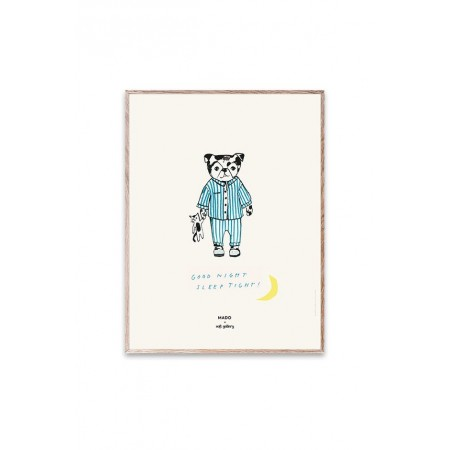 Soft Gallery MADO x Soft Gallery Sleep Tight, Small Poster 30x40cm (Pictures)