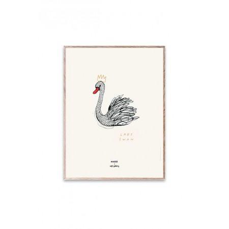 Soft Gallery MADO x Soft Gallery Lady Swan, Small Poster 30x40cm (Pictures)