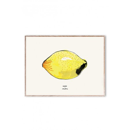 Soft Gallery MADO x Soft Gallery Lemon, Small Poster 40x30cm (Pictures)