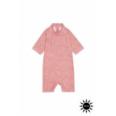 Soft Gallery Rey Sunsuit Rose Cloud, AOP Leospot (Swimwear)