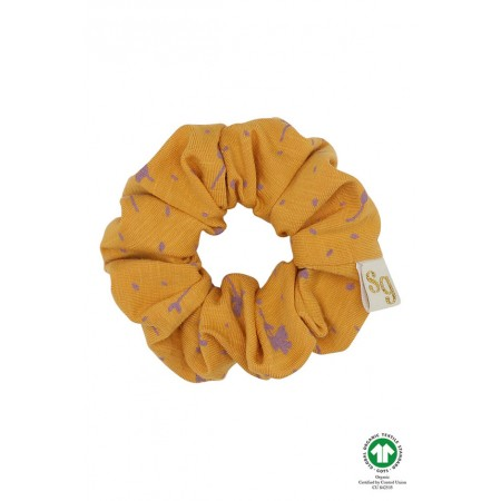 Soft Gallery Scrunchie, Sunflower, AOP Clover (Hair accessories)
