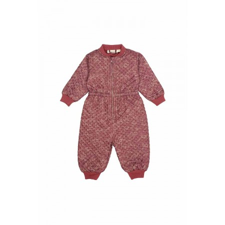 Soft Gallery Granger Jumpsuit, Apple Butter, AOP Flowedust