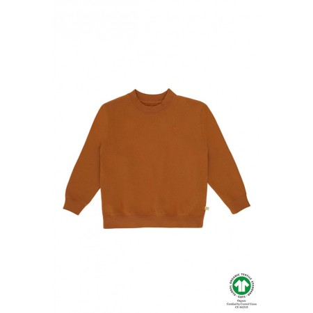 Soft Gallery Walker Sweatshirt, Pumpkin Spice, Mini Owl 2Y (Sweaters)