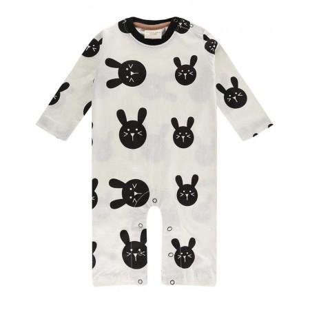 Turtledove London Bunny Playsuit (Slippers)