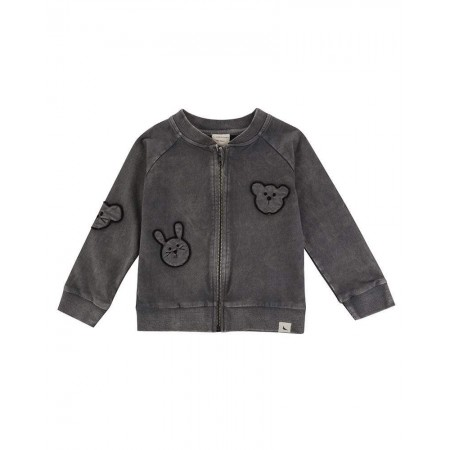 Turtledove London Embroidered Besties Bomber Jacket 4-5 Years (Sweaters)