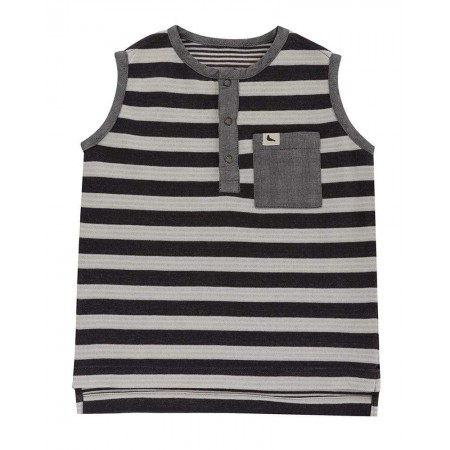 Turtledove London Reversible Stripe Jersey Vest 2-3 Years (Shirts)