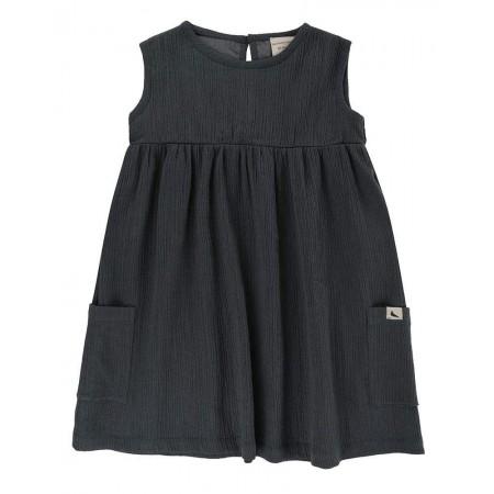Turtledove London Sleeveless Cheesecloth Dress (Dresses)