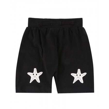 Turtledove London Starfish Knee Harem Shorts (Shorts)