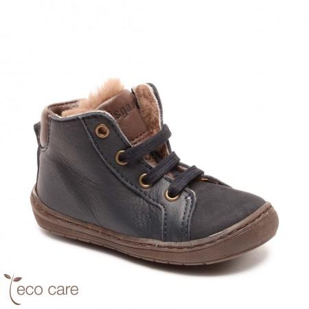 Bisgaard Vibs First Step Shoe  Navy (Footwear)