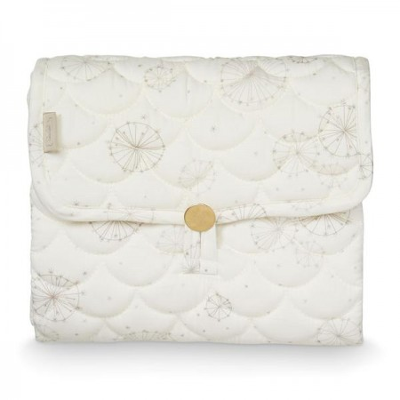 CamCam Changing Mat, Quilted - OCS Dandelion Natural