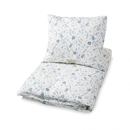 CamCam Bedding, Baby, 70X100cm  Pressed Leaves Blue (Bedding)
