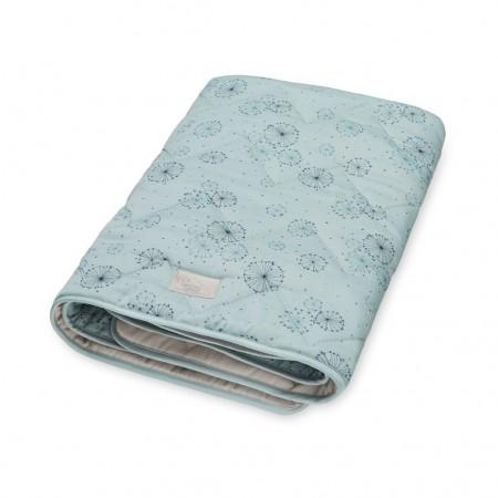 CamCam Blanket, Baby Dandelion Petrol (Children s plaid)