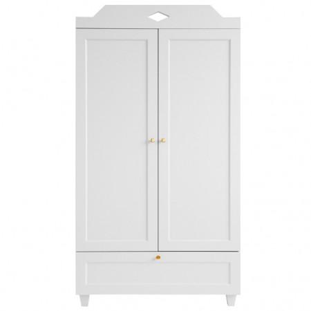 CamCam Carla Wardrobe White (Furniture)