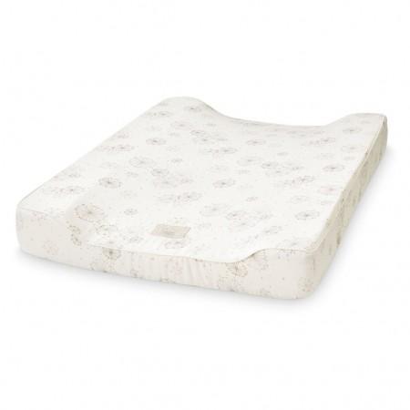 CamCam Changing Cushion W/ Lining Dandelion Natural (Chanching mat)