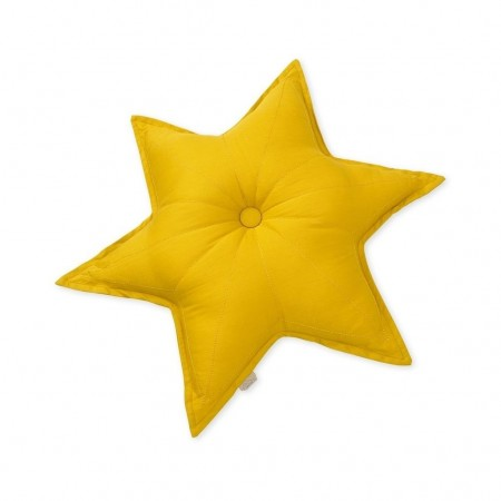 CamCam Cushion, Star Mustard (Decorative pillows)