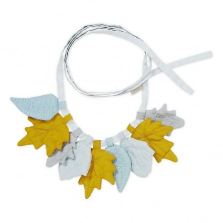 CamCam Garland Leaves Mix Mustard (Room accessories)