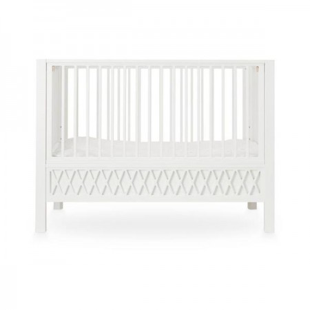 CamCam Harlequin Baby Bed  White (Beds)