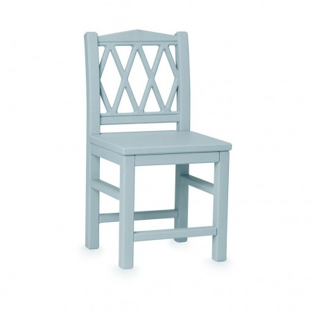 CamCam Harlequin Kids Chair Petroleum (Chairs and benches)