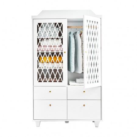 CamCam Harlequin Wardrobe White (Wardrobes)