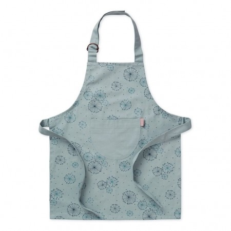CamCam Kids Apron With Coating Dandelion Petrol (Chefs  accessories)