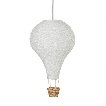 CamCam Lamp, Hot Air Balloon Grey Wave (Lightning)