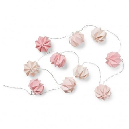 CamCam Origami String Led Lights Mix Rose (Lightning)
