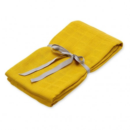 CamCam Swaddle Light Mustard (Muslin cloths)