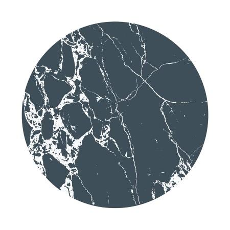 Everleigh Dark Marble - Stoleunderlag (Silicon mats)